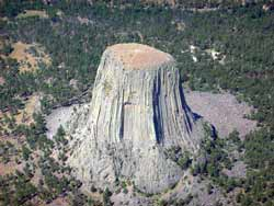 Pluton - Devil's tower, Wyoming