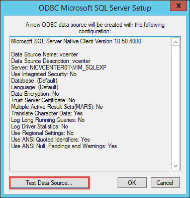VMware vCenter 6 SQL Express Upgrade