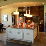 Parade of Homes Island Kitchen Iron Horse Ranch