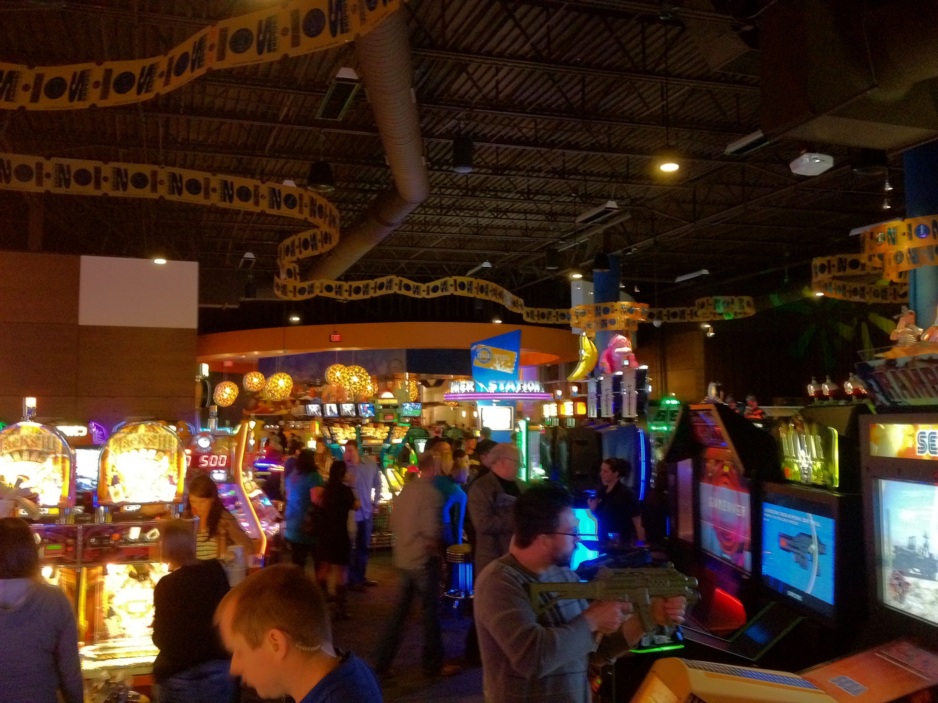 Dave n busters okc