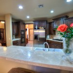 Solid-surface countertops in Cheyenne Crossing