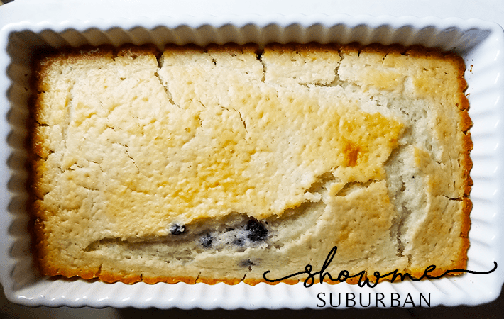 ShowMe Suburban   Quick & Easy Blueberry Muffin Loaf