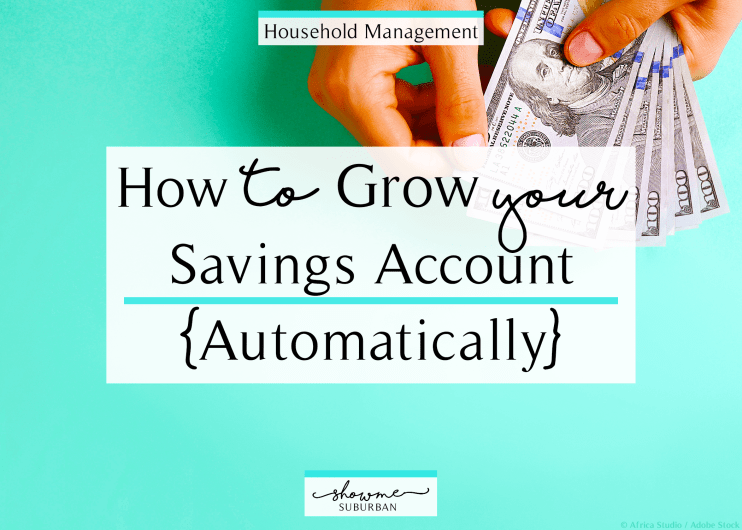Want to increase your savings? Learn how to grow your savings account automatically! Use these tips and tricks to put saving money on autopilot. Save up for a house, car, wedding, Christmas, anything by harnessing the power of automatic funds transfers. #money #savings