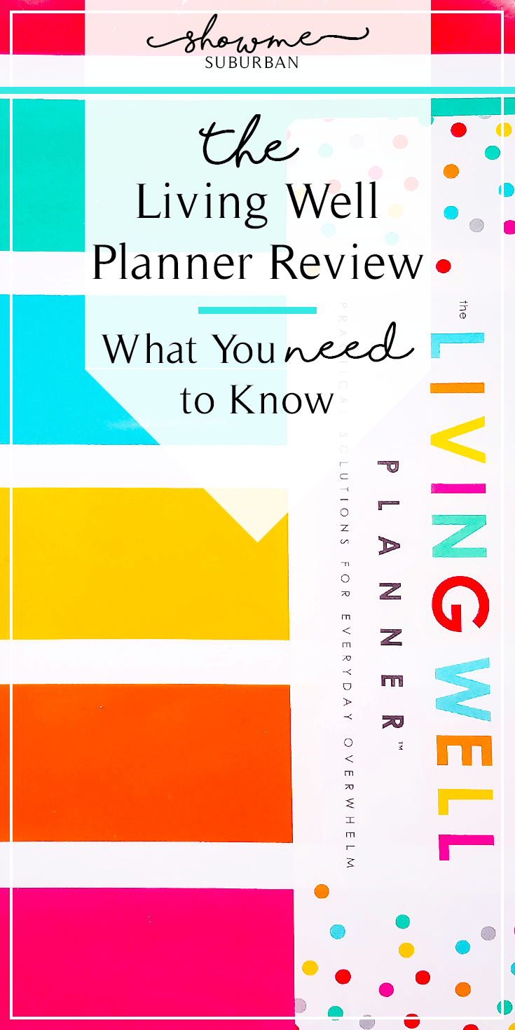 Whether you're working on New Year's resolutions or just want get your life organized, this Living Well Planner review will help you decide if this planner is right for you.  Check out the in-depth overview of goal setting, budgeting, meal planning, calendar pages, and more! #planner #organized