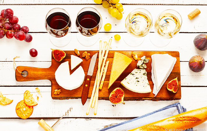 Looking to up your entertaining game?  Host a fun and adventurous wine and cheese party for your friends!  Find ideas for appetizers, where to find pairings, supplies needed, games, and more!