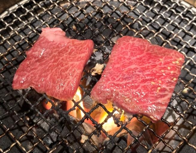 自由が丘の焼肉屋「漢江」のカイノミ1