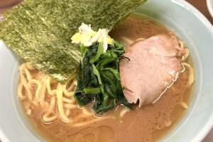 「横浜家系 侍」の家系ラーメン