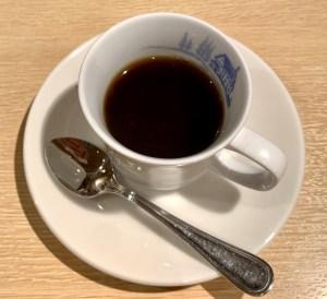 渋谷の宮益坂「おまかせ亭」のコーヒー