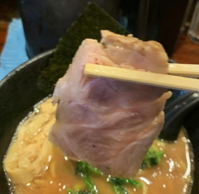 「麺屋 大和田」のラーメンのチャーシュー