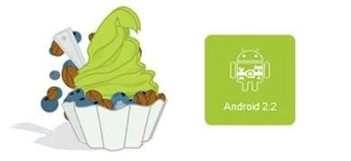 wpid android22 froyo - A atualização 2.2 do sistema Android deve sair ainda hoje para alguns modelos