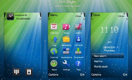 Ovi Stlye by olek21 by olek21 - TEMA: OVI Style para celulares Nokia