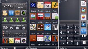HITMAN1 - Temas: Hitman estilo iPhone, para smartphones Nokia e Symbian