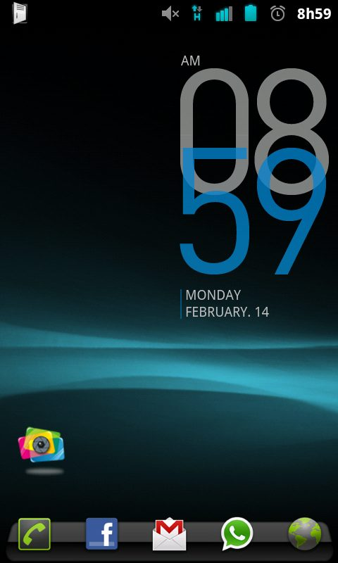 Desire HD CyanogenMOD 7 01 - ROM CyanogenMOD 7 para o HTC Desire HD - Android Gingerbread 2.3 (tutorial e impressões)