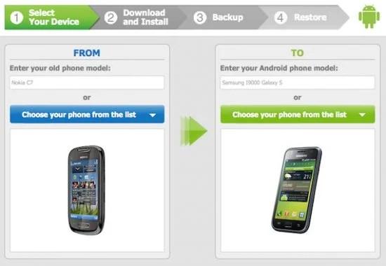 Migrate To Android e1295185385110 - Como transferir os dados do seu celular Nokia/Symbian/Blackberry para o Android