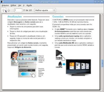 Captura de tela Full page fax print 1 - Motorola Atrix 4G prestes a ser lançado no Brasil