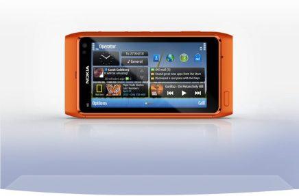 nokia n8 front horizontal orange 755x497 - Review: smartphone Nokia N8