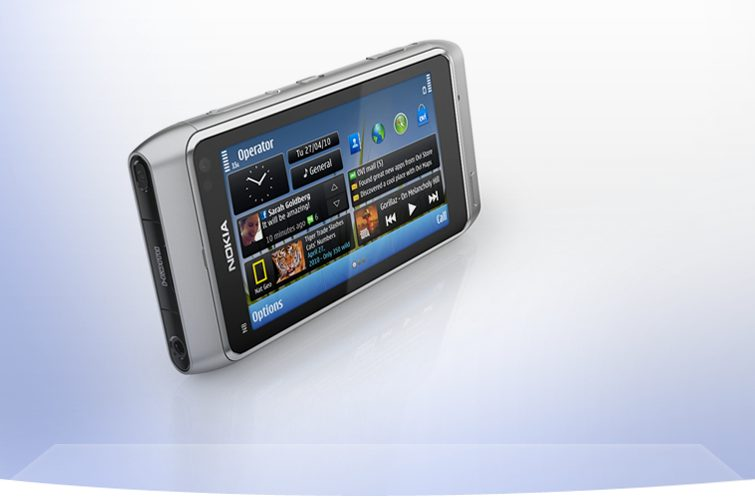 nokia n8 shot E silver 755x497 - Review: smartphone Nokia N8