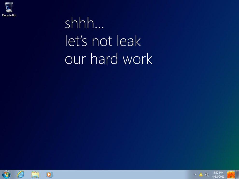windows 8 milestone 1 build 7850 1 - Versão prévia do Windows 8 vaza na internet
