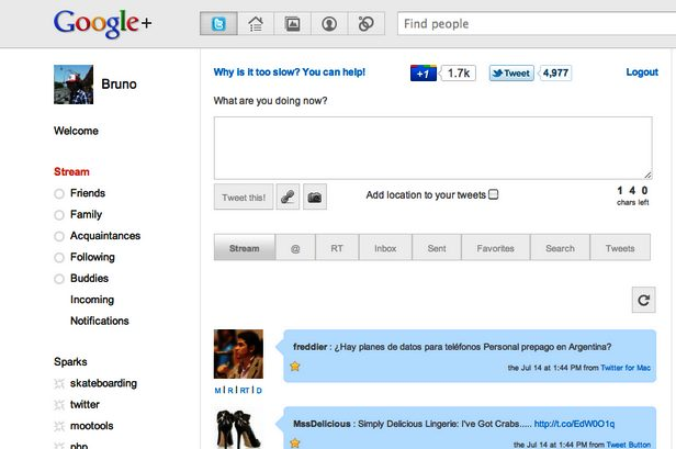 Twitter - Tutorial: colocando o Twitter no seu perfil do Google+