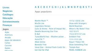 Apple adiciona seção de jogos à loja de aplicativos do Brasil 7