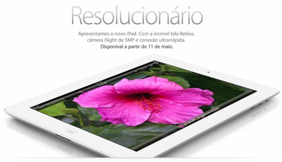 Captura de Tela 2012 05 07 às 16.14.43 - Novo iPad já aparece na loja brasileira da Apple