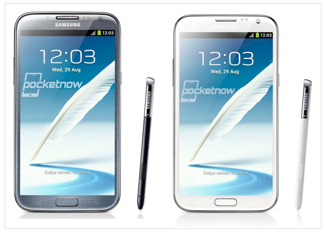 note2 - Galaxy Note II é oficialmente anunciado pela Samsung