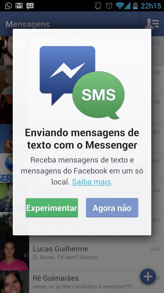 Screenshot 2012 10 05 22 15 13 - Facebook incorpora SMS no aplicativo de mensagens