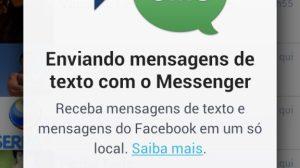 Facebook incorpora SMS no aplicativo de mensagens 14