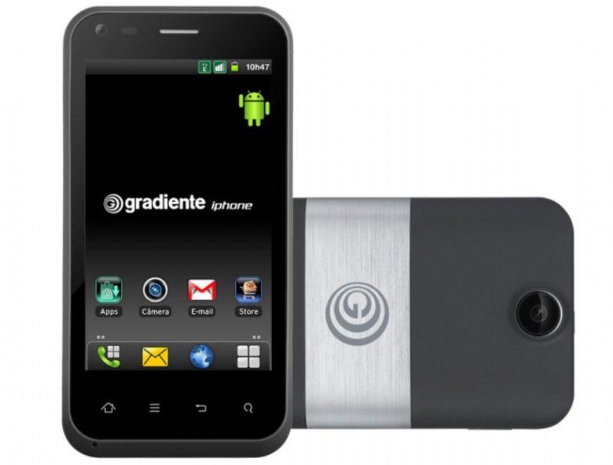 """Captura de Tela 2012 12 18 às 17.28.21 - Gradiente lança linha de celulares """"iphone"""""""