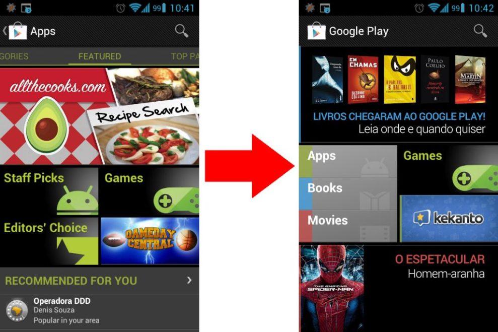 """play store update - TUTORIAL: Forçar a atualização da """"Play Store"""" para acessar a compra de livros e filmes"""