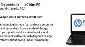 HP entra para o time de fabricantes de Chromebooks 17