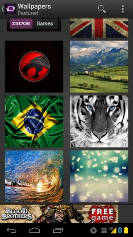 Zedge Wallpapers Android iPhone 3 - App Review: Zedge é um show de wallpapers e personalizações
