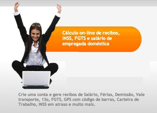 Captura de Tela 2013 03 27 às 23.00.18 - Site ajuda a calcular gastos com empregados domésticos