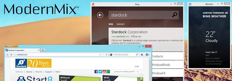 ModernMix permite executar apps do Windows 8 em janelas 3