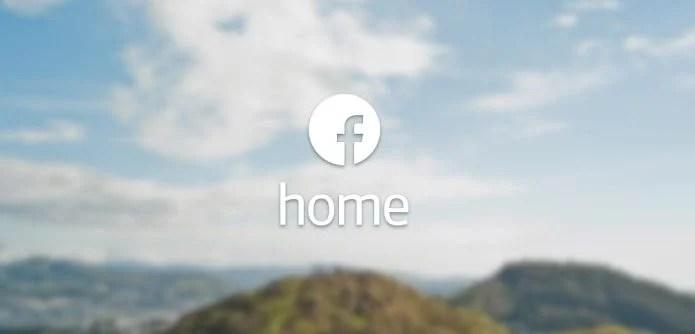 FacebookHome - Facebook Home disponível na Play Store