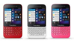 BlackBerry mira nos mercados emergentes com novo Q5 17
