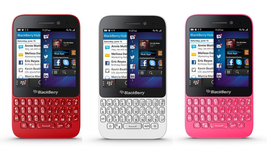 blackberry q5 - BlackBerry mira nos mercados emergentes com novo Q5