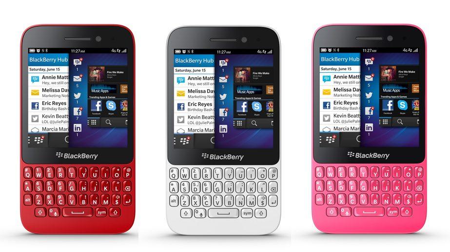 BlackBerry mira nos mercados emergentes com novo Q5 5