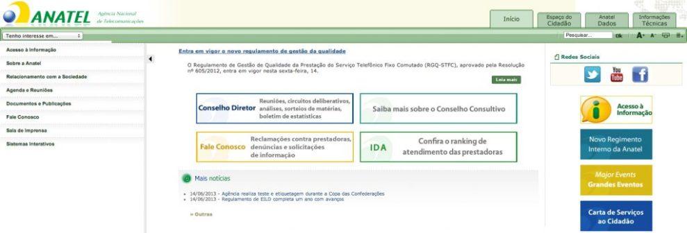 """Captura de Tela 2013 06 15 às 08.56.32 - Tutorial: reclamando para a """"Tia ANATEL"""""""