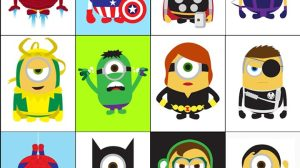 Minions ganham versões de super-heróis da Marvel e DC 15