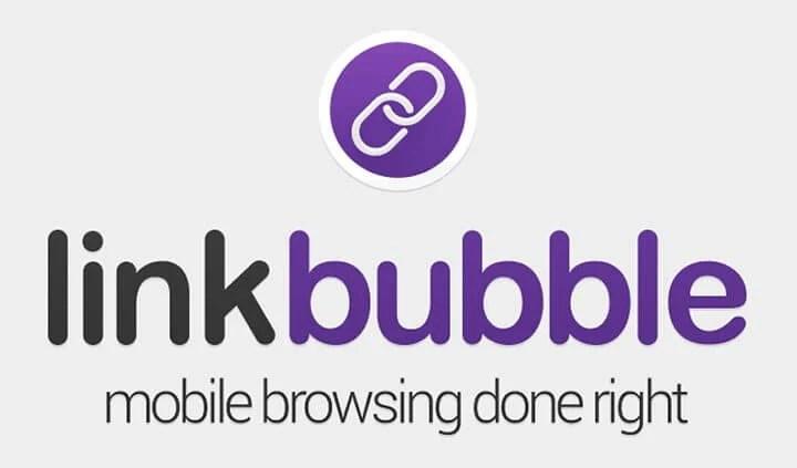 link bubble logo and icon - Link Bubble: um navegador focado em alta produtividade