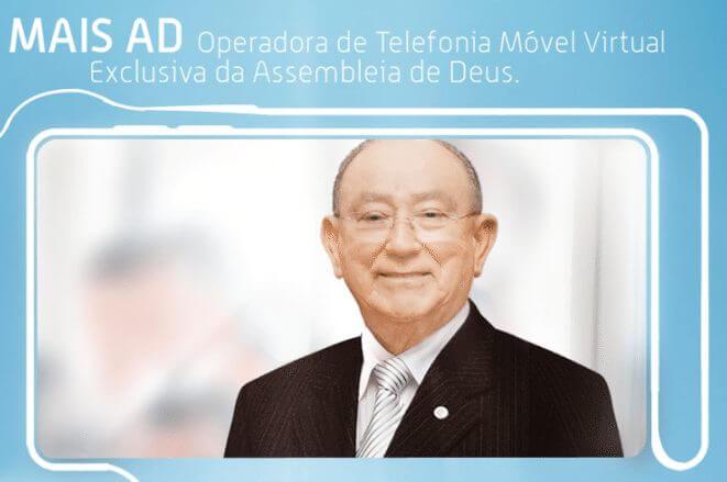 """assembleia deus mais ad - Assembléia de Deus lança operadora de celular """"Mais AD"""""""