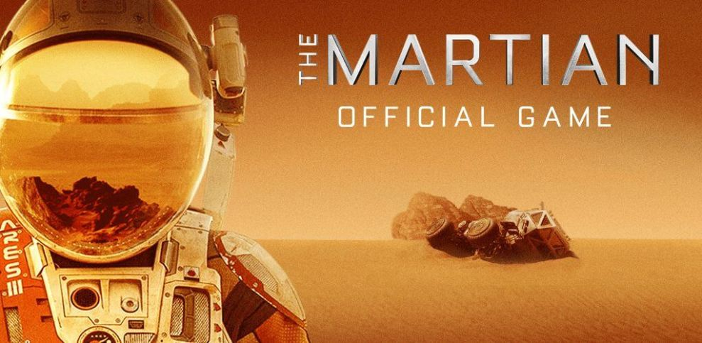 promotional key art - The Martian: jogo para Apple Watch, iOS e Android