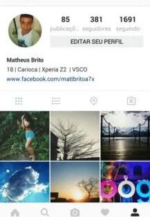 Instagram testa novo visual preto e branco 5