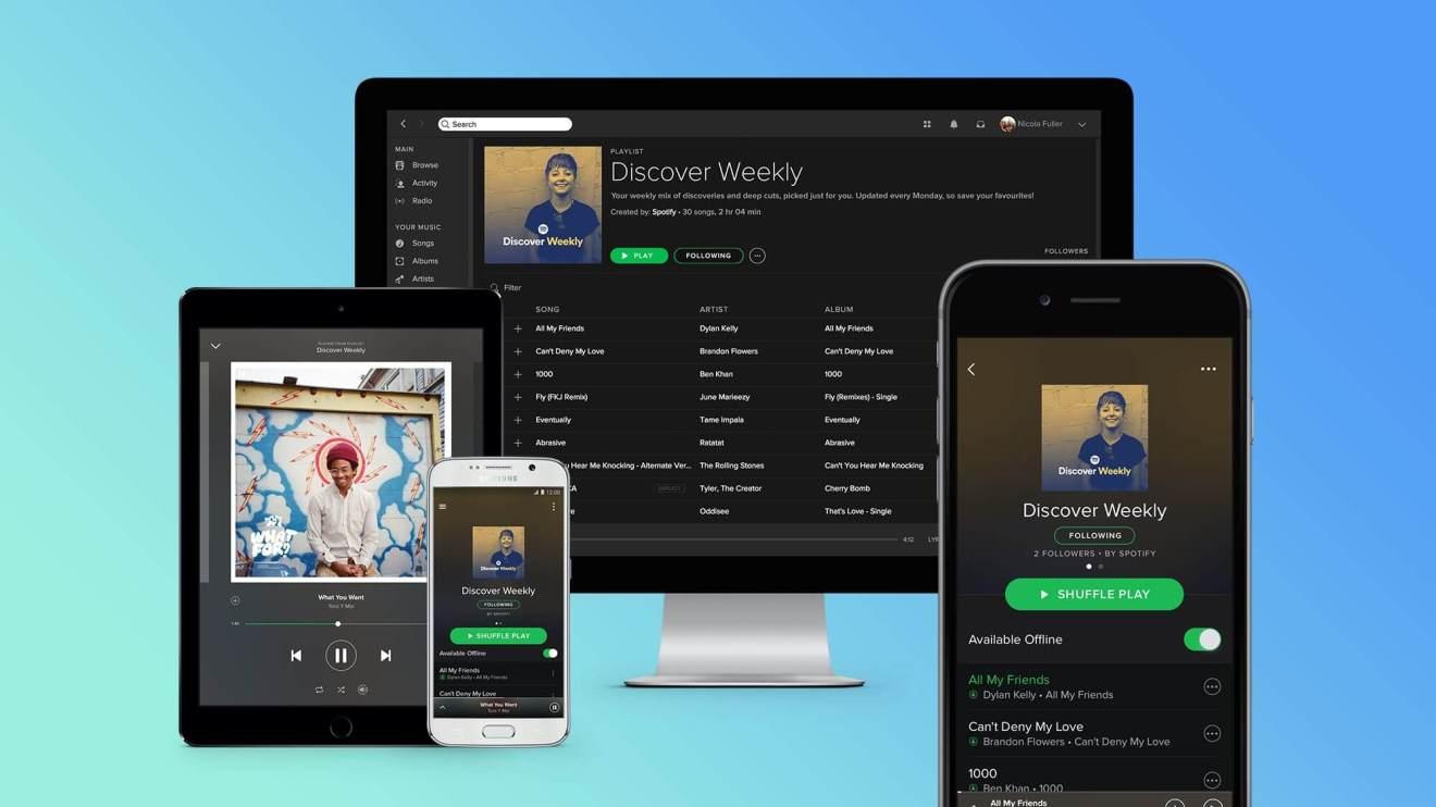 Assinantes do Spotify vão ouvir novos álbuns com exclusividade 6