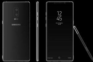 Vazamento mostra possível design final do Samsung Galaxy Note 8 com S-Pen