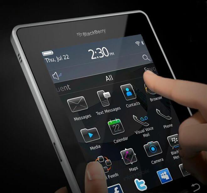 BlackBerry BlackTab playbook tablet RIM - Novo Tablet na jogada: RIM Playbook!