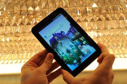 samsung galaxy tab hands on 01 - Samsung Galaxy Tab: Galeria de imagens