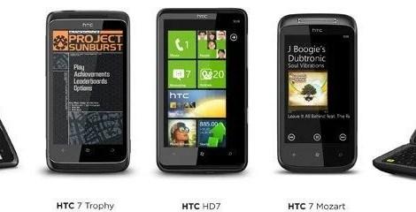 familia 1 - Famíla HTC Windows Phone 7