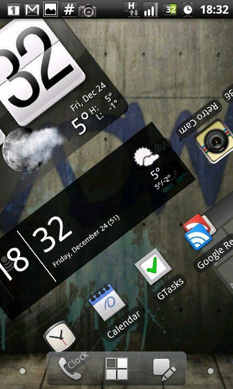 CAP201012241832 - App: novo ADW Launcher Ex para smartphones Android